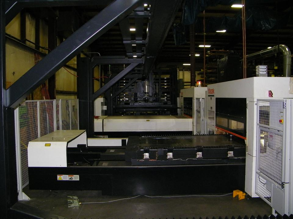 Sheet Metal Fabrication Flexible Manufacturing System