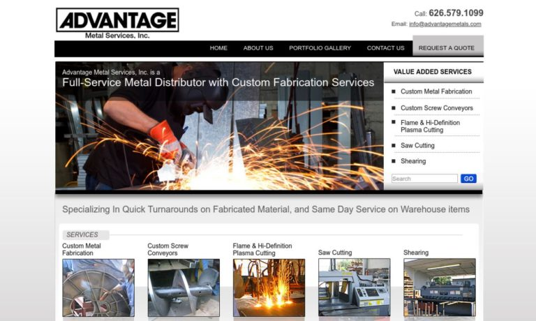 Advantage Metal Services, Inc.