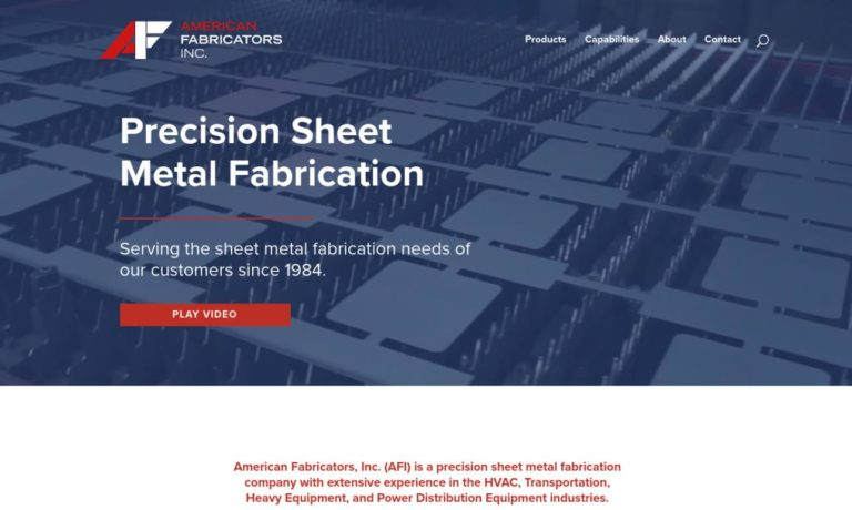 American Fabricators, Inc.