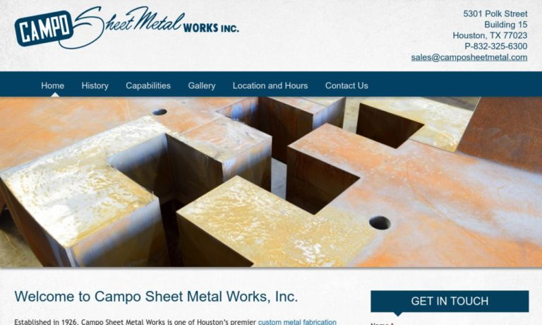 Campo Sheet Metal Works, Inc.