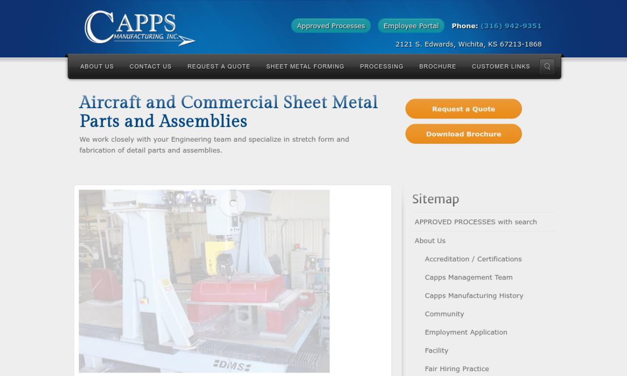 Capps Manufacturing, Inc.