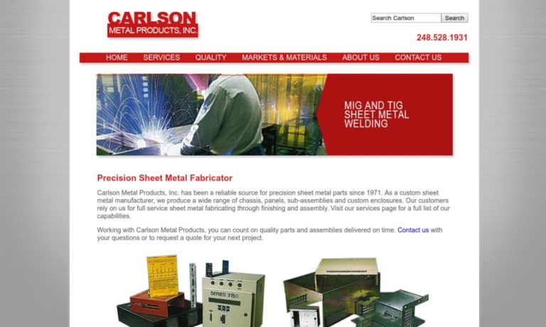 Carlson Metal Products, Inc.