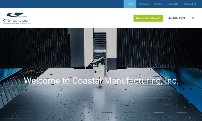 Coastal Manufacturing, Inc.