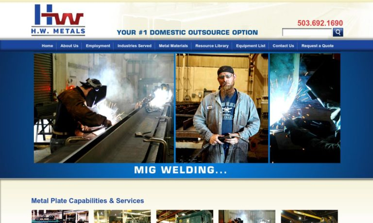 H.W. Metal Products Inc.
