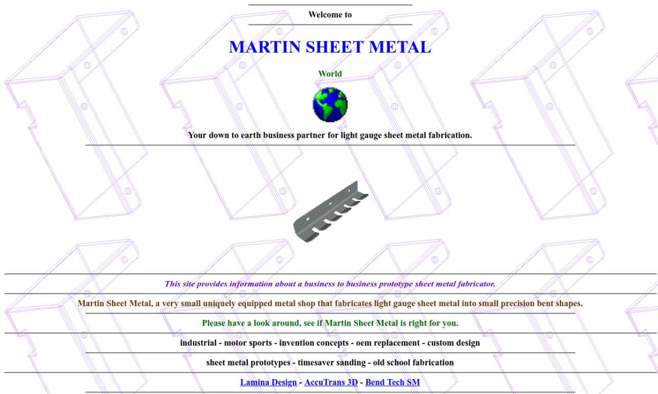Martin Sheet Metal World