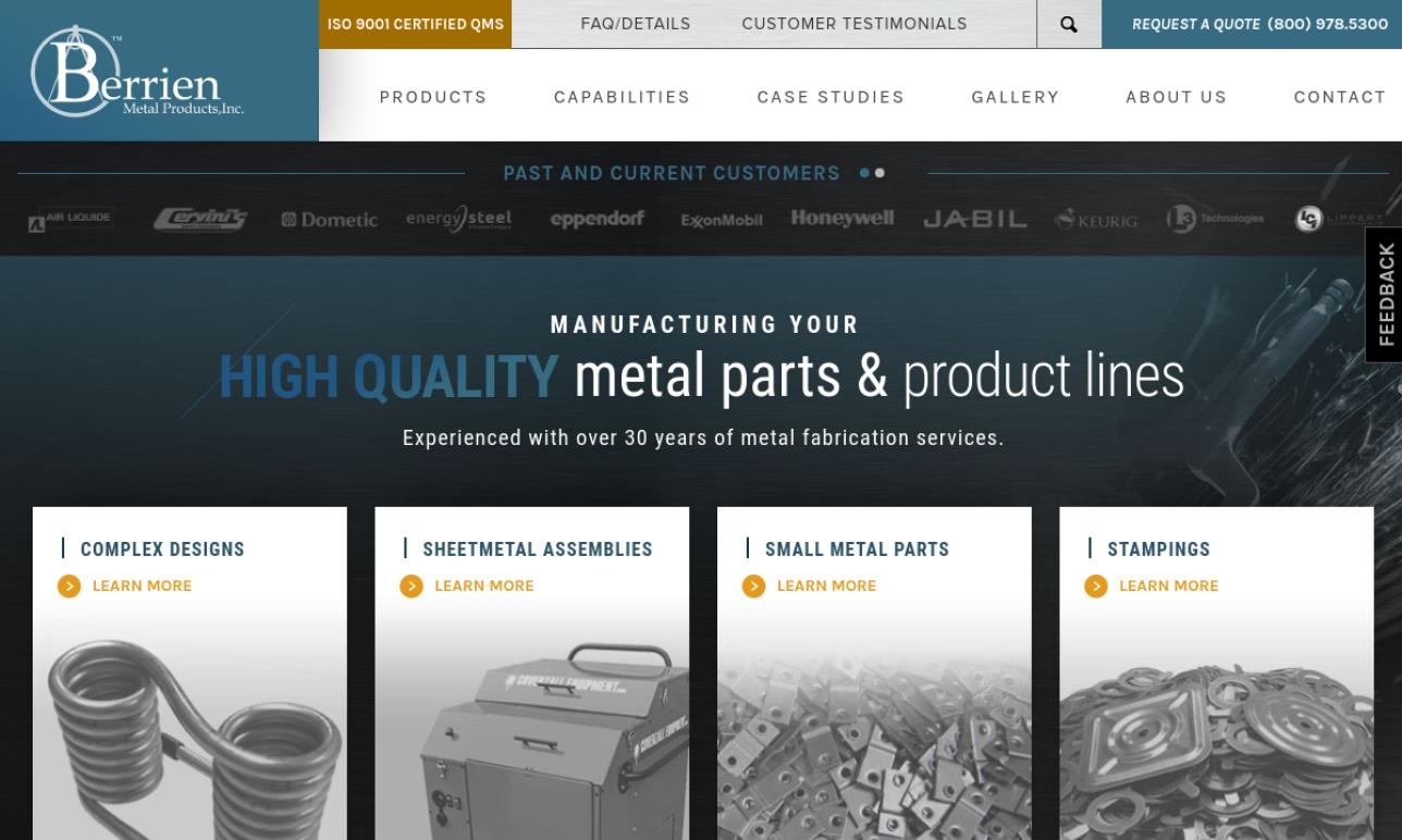 Berrien Metal Products, Inc.