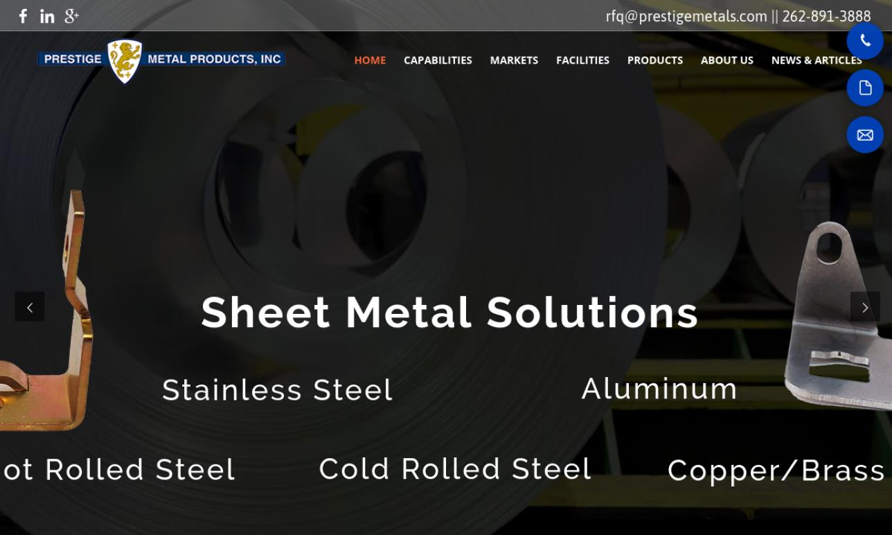 Prestige Metal Products Inc.