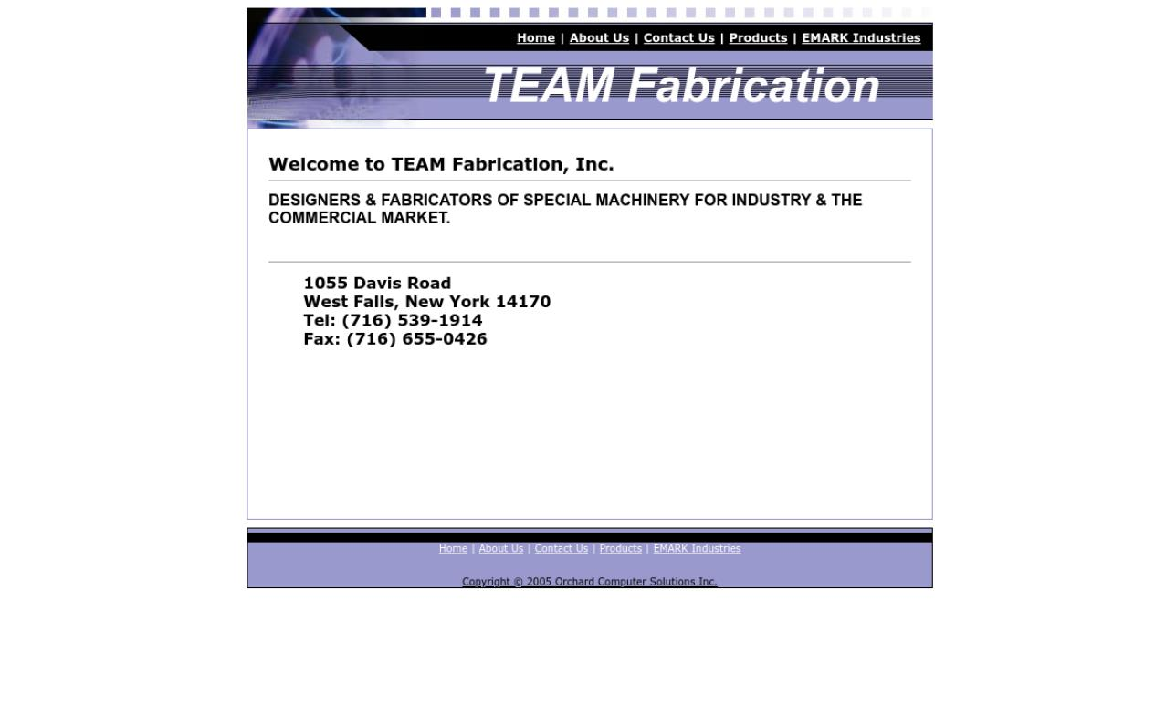 TEAM Fabrication, Inc.