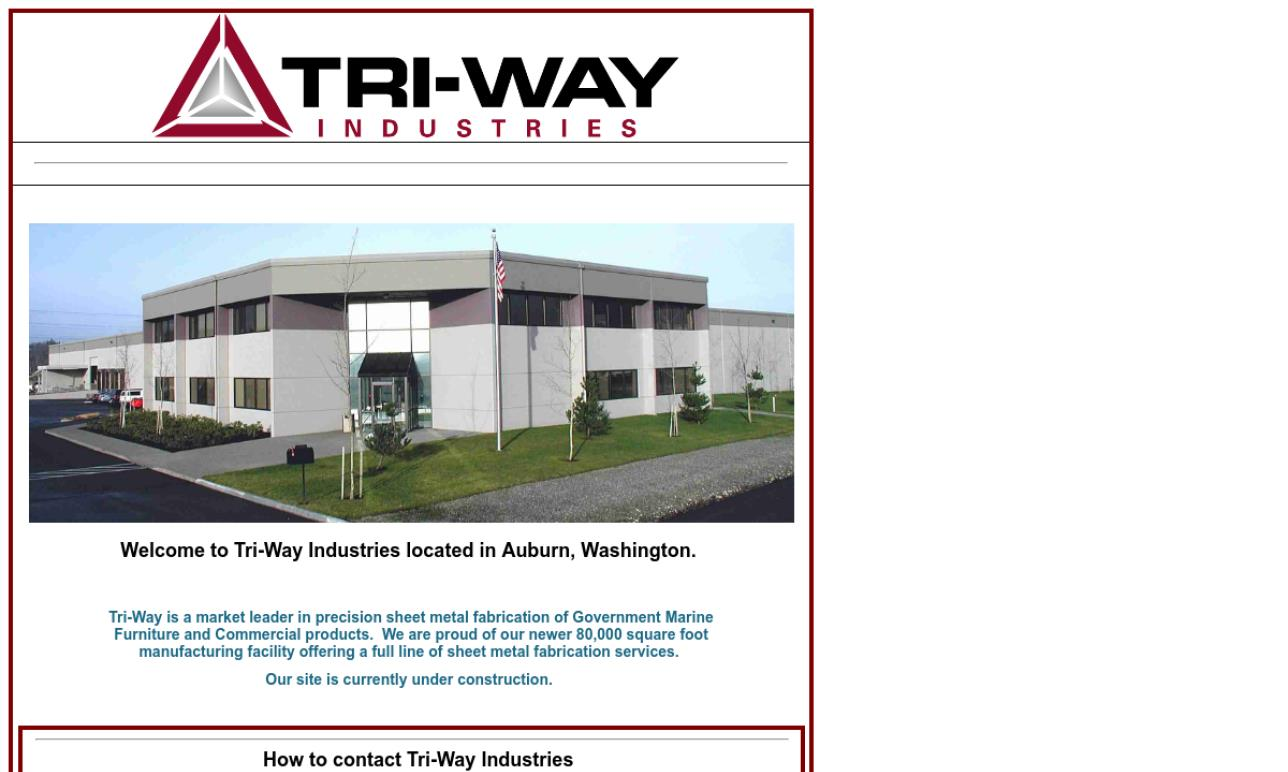 Tri-Way Industries, Inc.