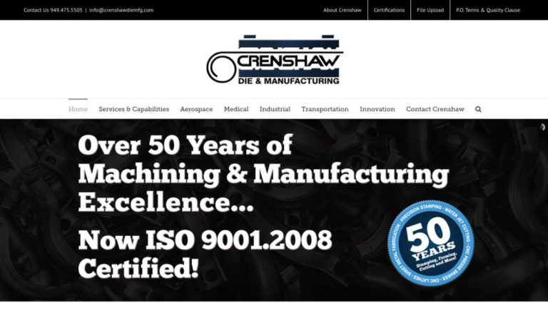 Crenshaw Die and Manufacturing Corp.