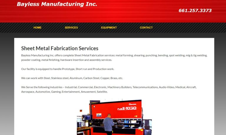 Bayless Engineering & Manufacturing