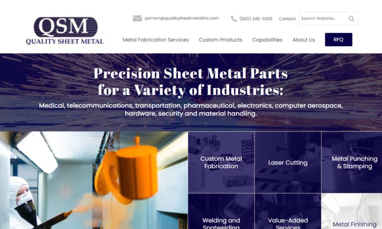 Quality Sheet Metal, Inc.